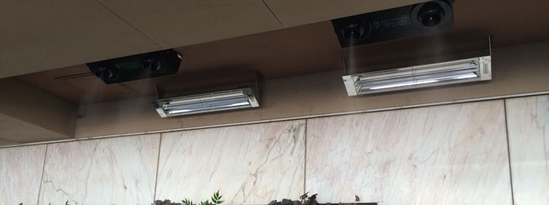 Outdoor Heating Systems Fort Worth Outdoor Patio Heating Systems - Built in patio heaters